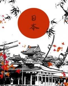 Japan land of the rising sun
